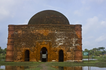 Chunakhola-Mosque,-Bagerhat(2)